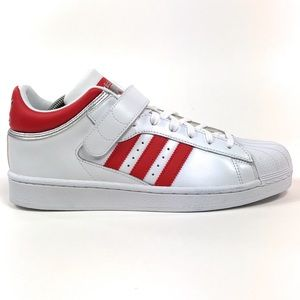 Adidas Pro Shell Toe White Red Shoes Strap BY4384